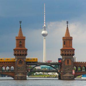 Oberbaumbrücke Friedrichshain