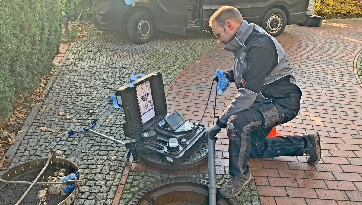 Kanalreinigung und Inspektion - Abfluss-Hilfe-24 UG